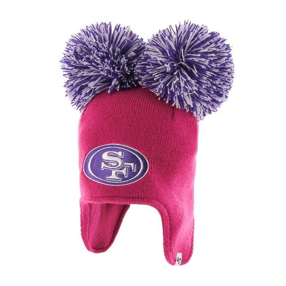 NFL Toddler Fraggle Knit Hat San Francisco 49ers😻 150cda393863